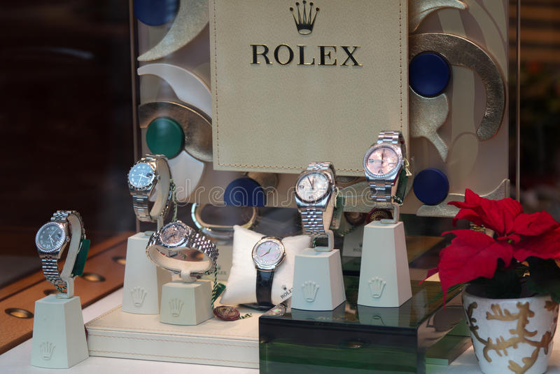 Rolex - système images stock