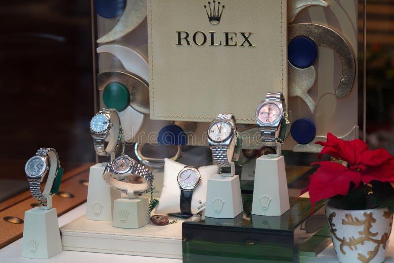 Rolex - System stockbilder