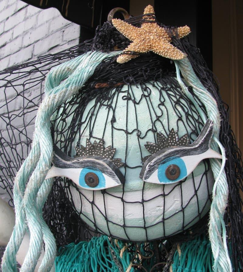 Rolig docka som göras av flotta- och fisketillförsel royaltyfria bilder