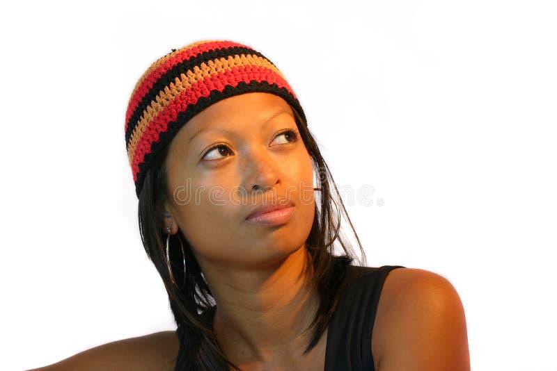 rolig hatt iii fotografering för bildbyråer