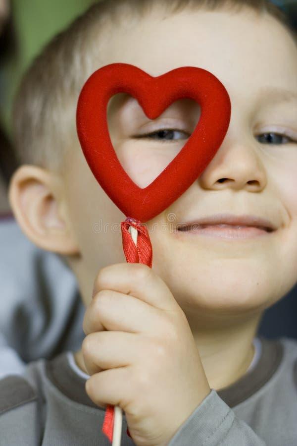 Download Rolig hjärta arkivfoto. Bild av framsida, lyckligt, gyckel - 506756