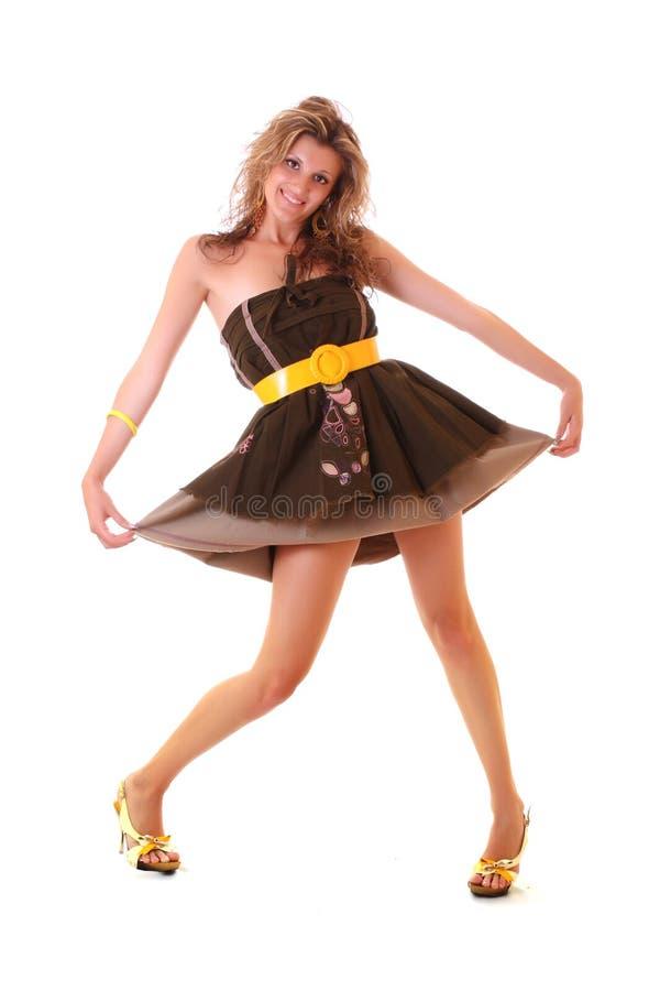 rolig klänning royaltyfria foton