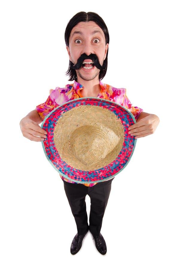 Rolig mexikan arkivfoto