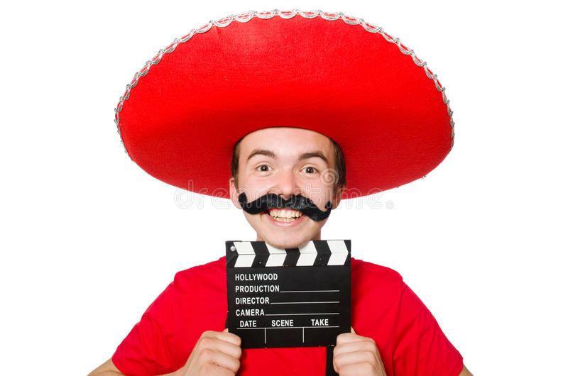 Rolig mexikan fotografering för bildbyråer