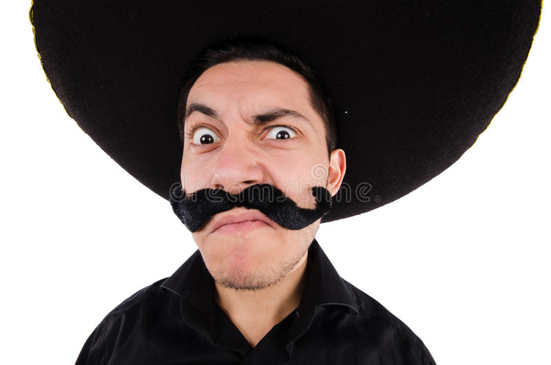 Rolig mexikan arkivfoton