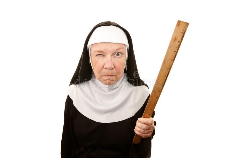 rolig nunna arkivfoton