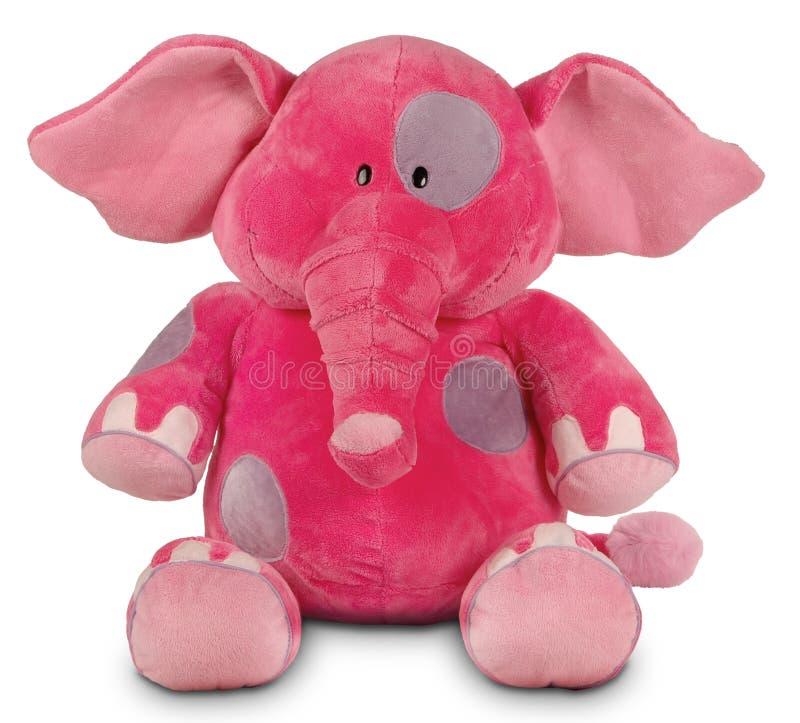 rolig pink för elefant arkivfoton