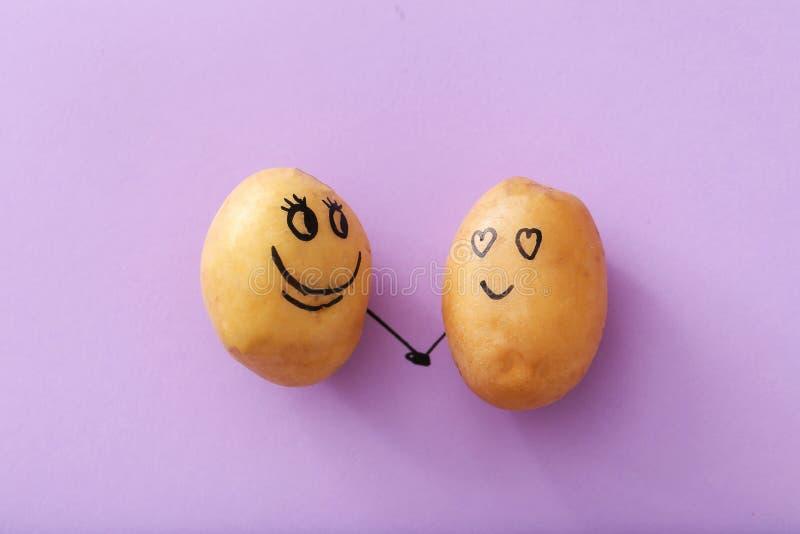 rolig potatis arkivbilder