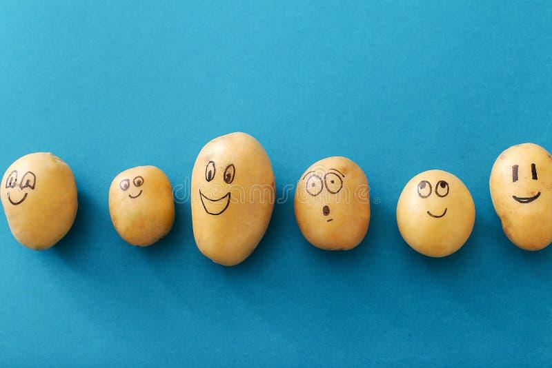 rolig potatis fotografering för bildbyråer
