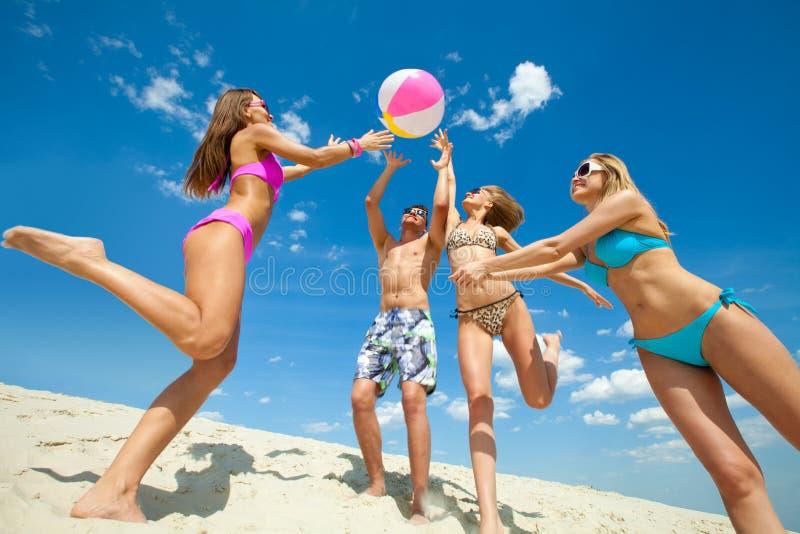 Rolig sommartid royaltyfria bilder