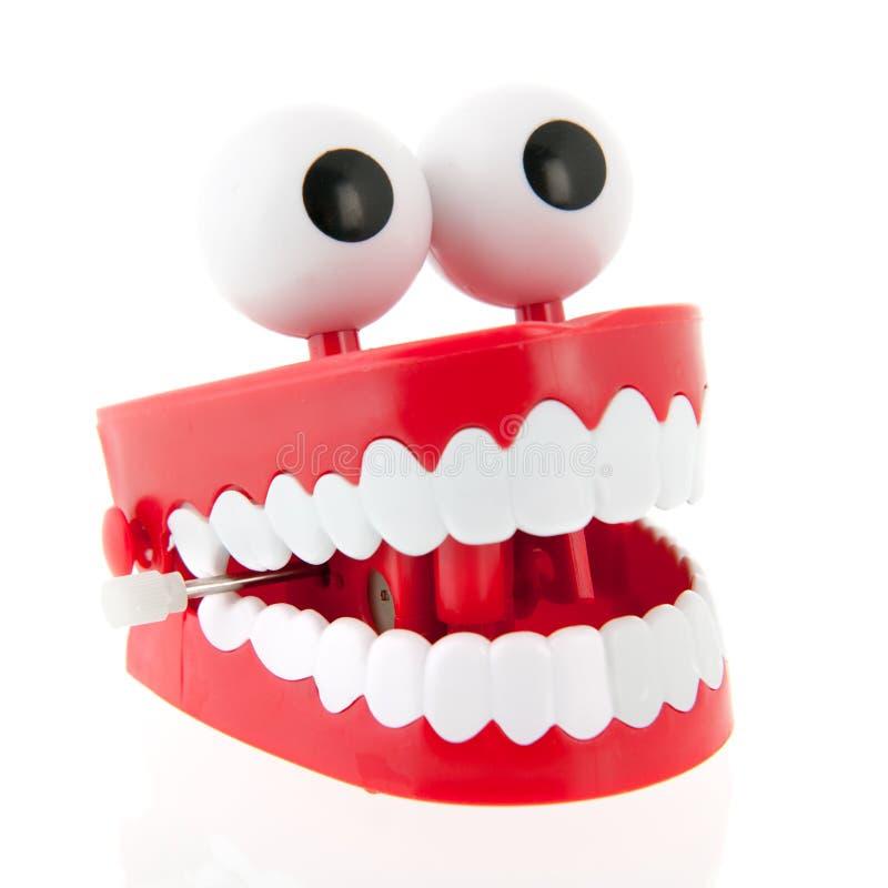 Rolig tandprotes arkivfoto