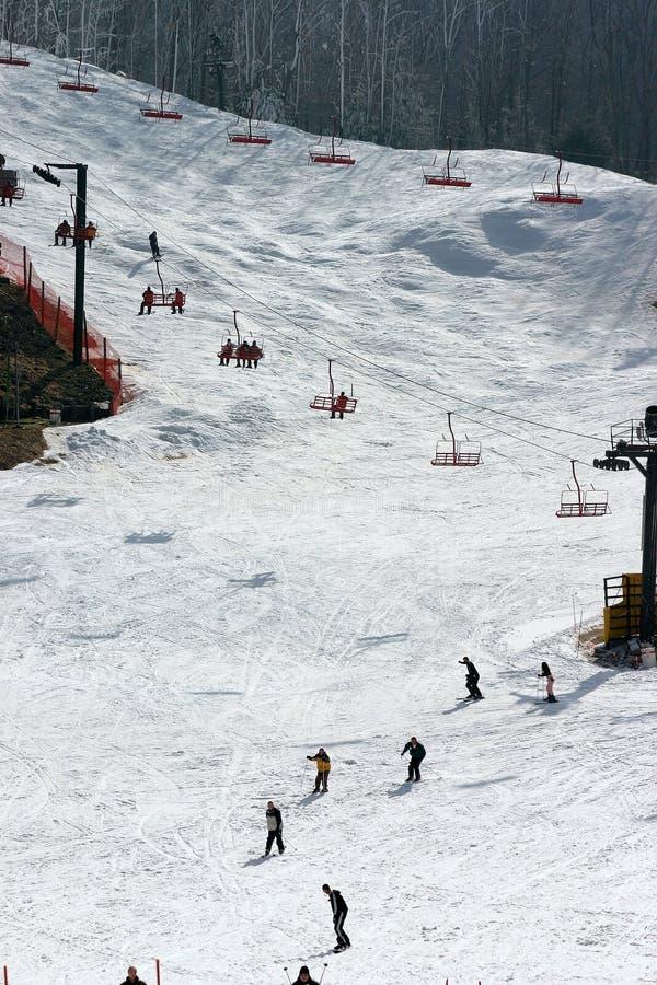 Download Rolig vinter arkivfoto. Bild av sluttande, vinter, lopp - 507604