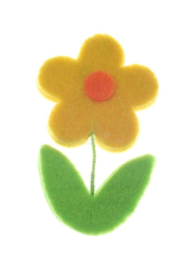 rolig yellow för blomma arkivfoto
