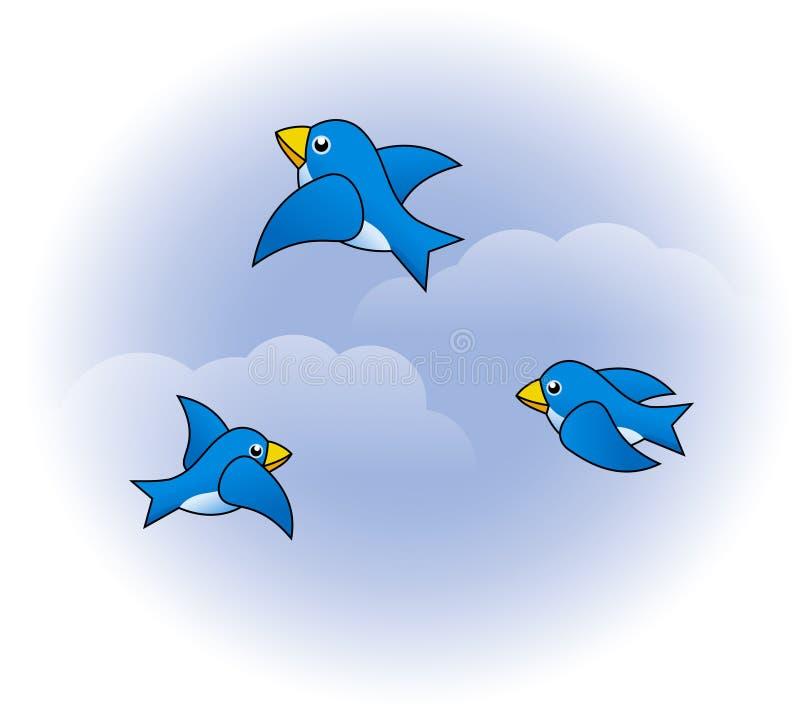 roliga fåglar arkivfoton