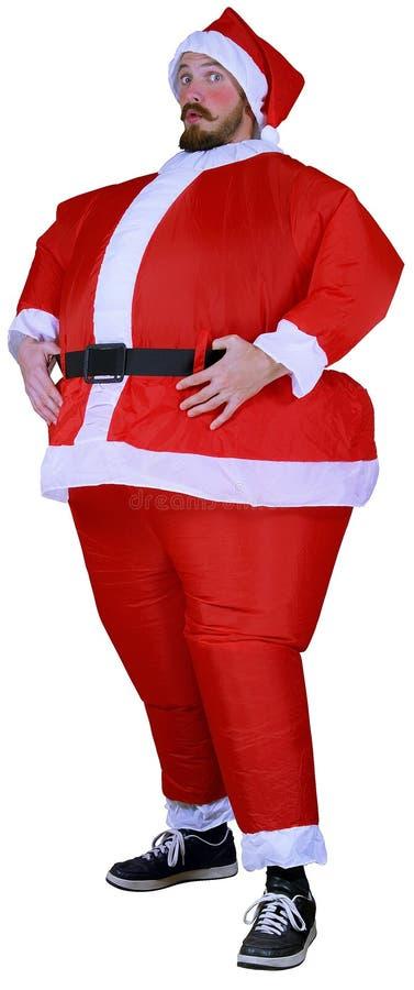 Download Roliga santa fotografering för bildbyråer. Bild av säsong - 3538747