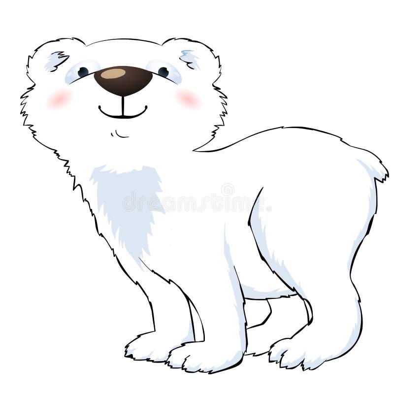 Download Roligt polart för björn stock illustrationer. Illustration av objekt - 19794659