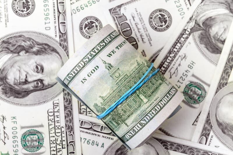 Rolka dolary zdjęcia royalty free