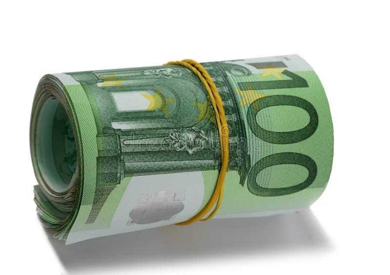rolka euro zdjęcia royalty free