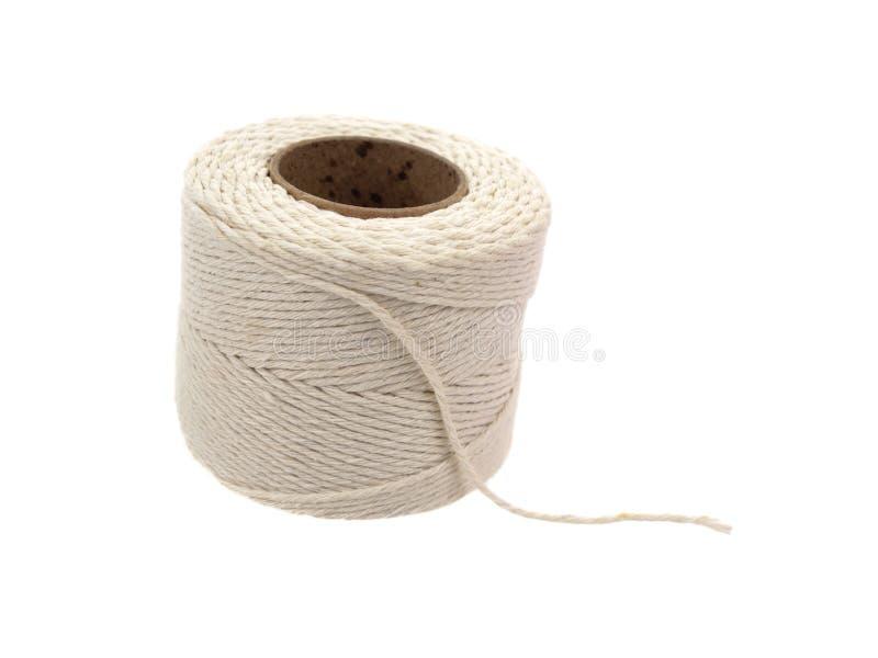 rolka konopiany sznurek zdjęcia stock