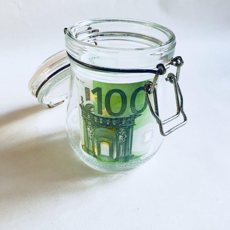 Rolka pieniądze obrazy stock