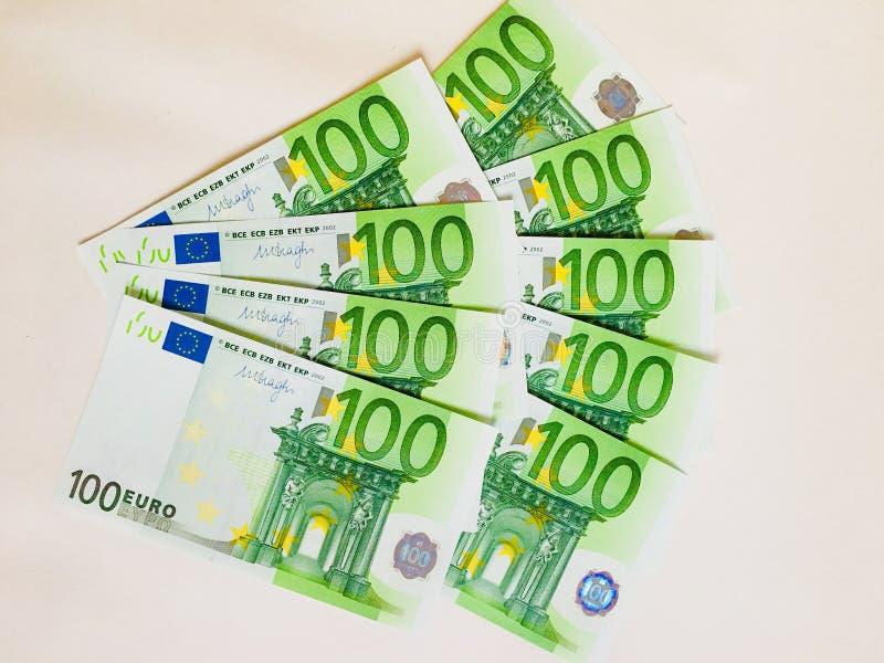 Rolka pieniądze obrazy royalty free