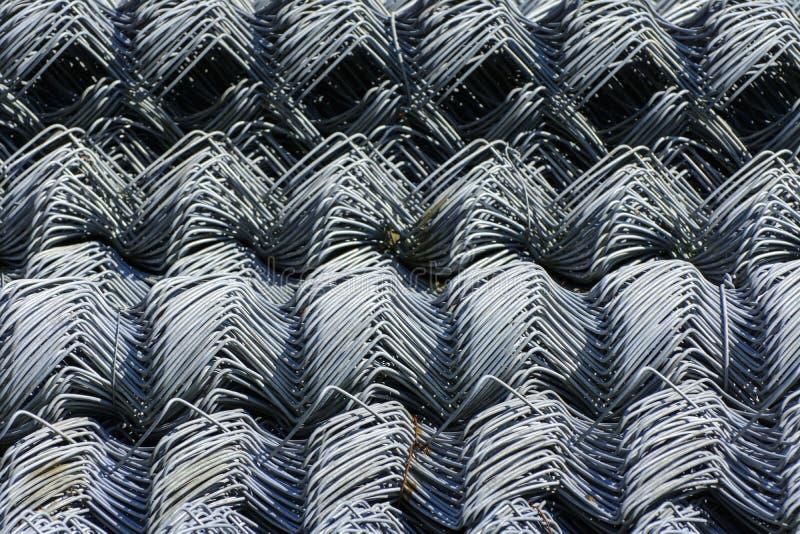 Rolki galwanizująca stalowa druciana siatka z wielkim twiste i komórką zdjęcia stock