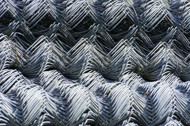 Rolki galwanizująca stalowa druciana siatka z wielkim twiste i komórką zdjęcie royalty free