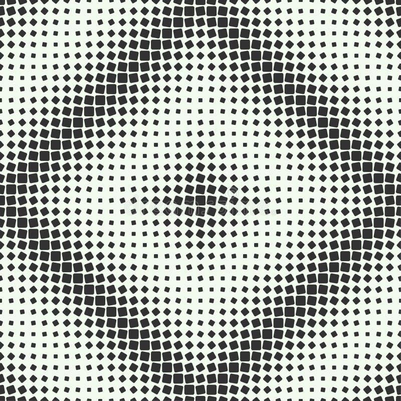 Rolki kwadratowa bezszwowa tekstura royalty ilustracja