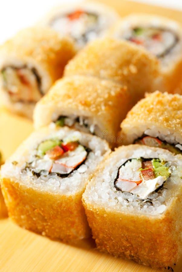 rolki tempura fotografia stock