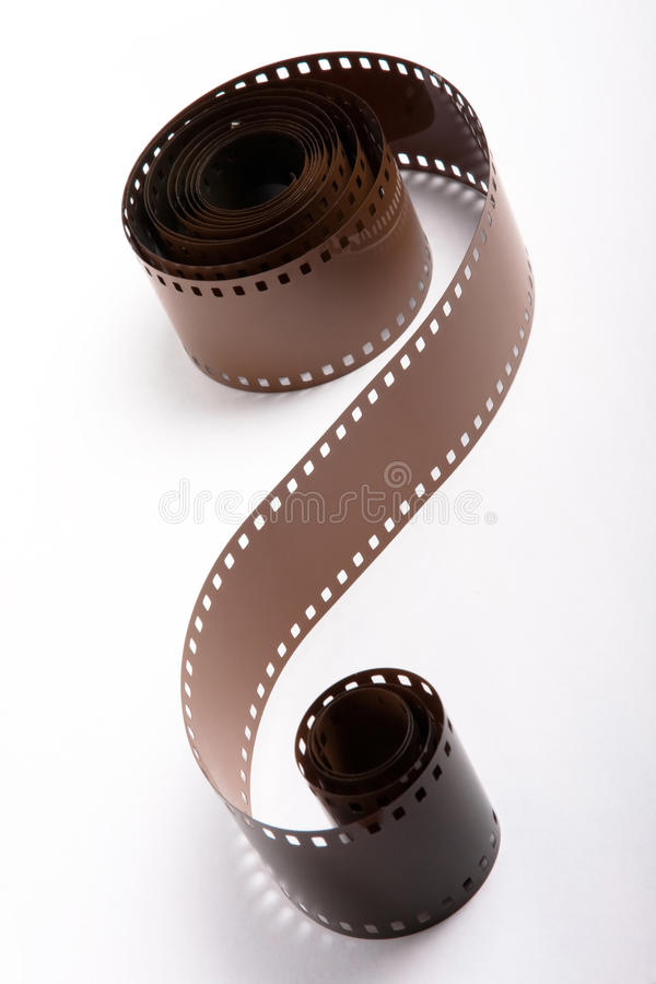 Roll of 35mm film royalty free stock photography