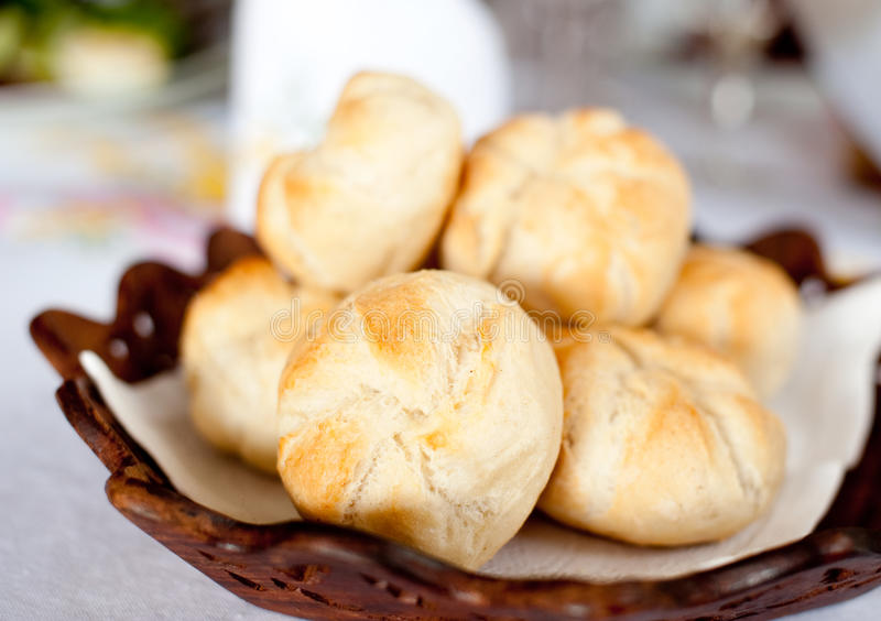 Download Roll breads stock image. Image of basket, object, whole - 22740677
