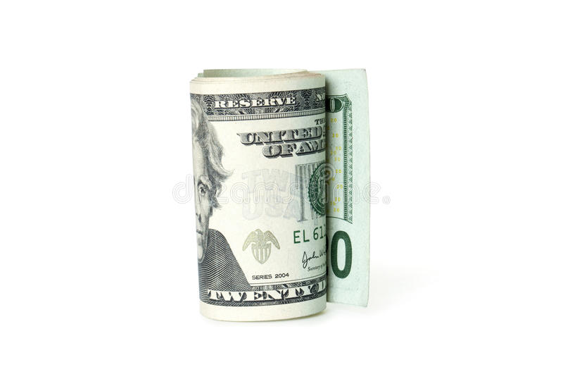Download Roll Of Dollars Royalty Free Stock Photos - Image: 19928008