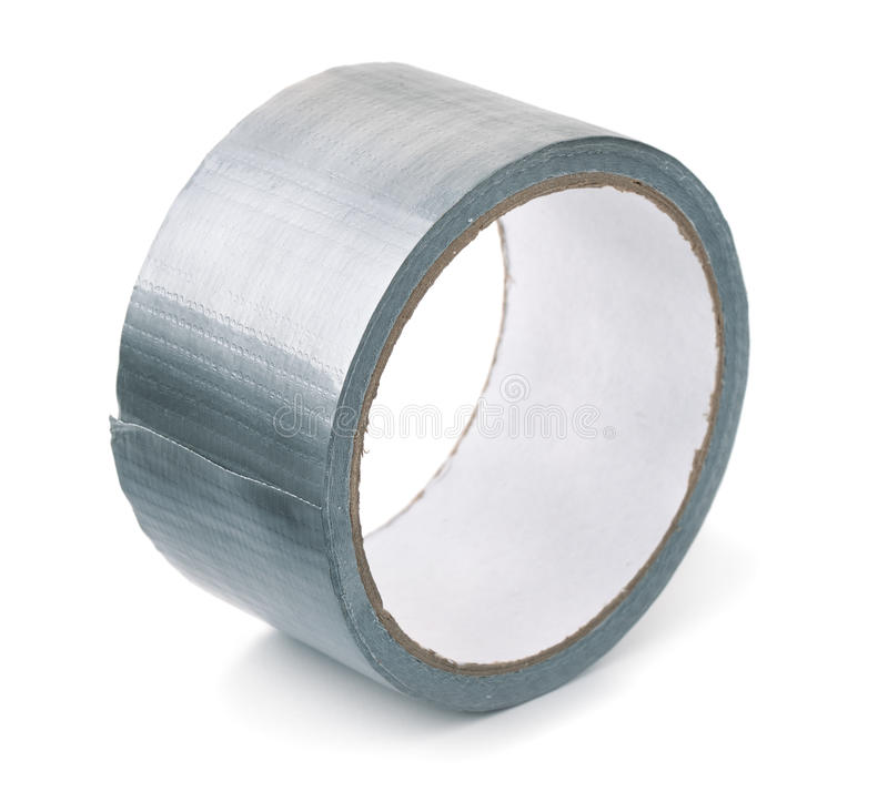 Roll of duct tape stock photos