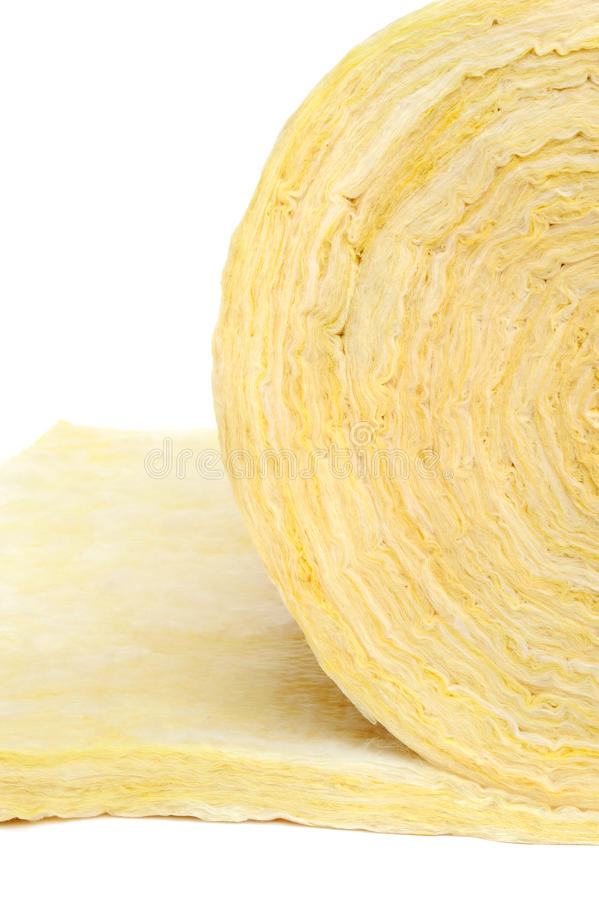 Download Roll Of Fiberglass Insulation Material Stock Photo - Image: 24500528