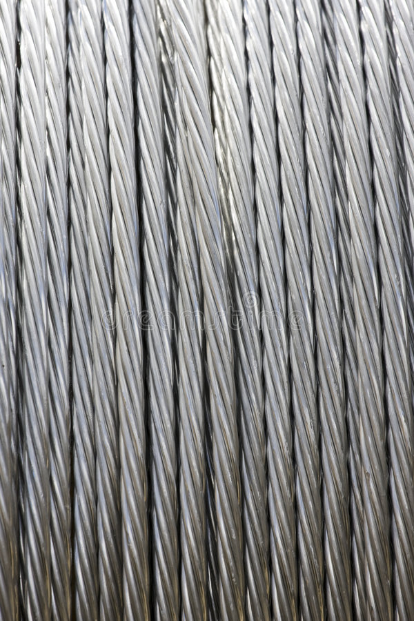 Download Roll of Metal Wire Strands stock image. Image of material - 7002151