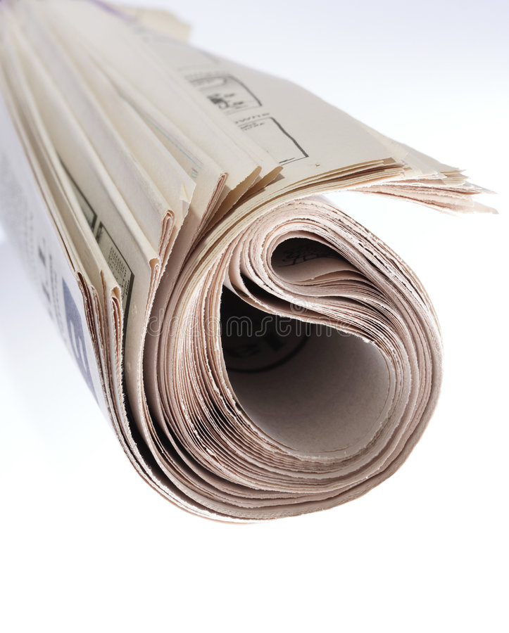 Download Roll Of Newspaper Stock Images - Image: 1226034