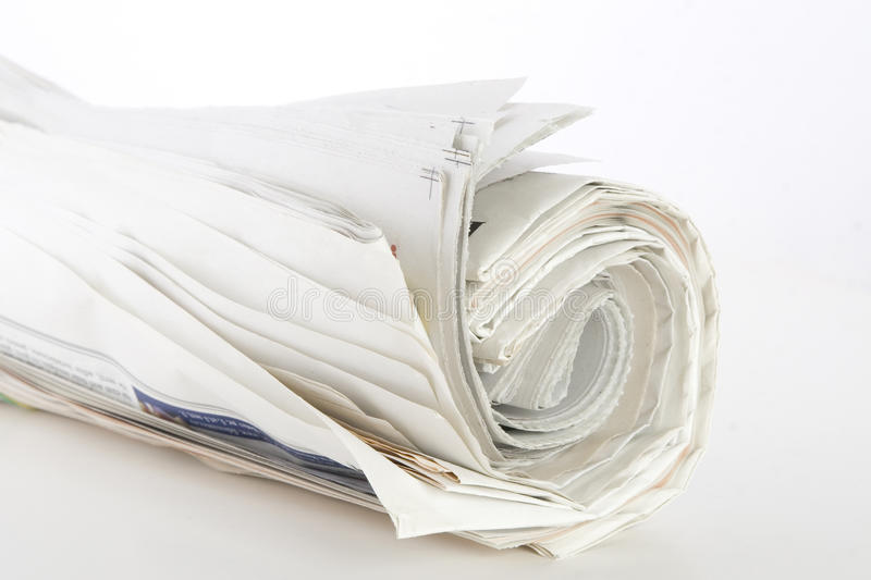 Download Roll Of Newspapers Royalty Free Stock Images - Image: 15123269