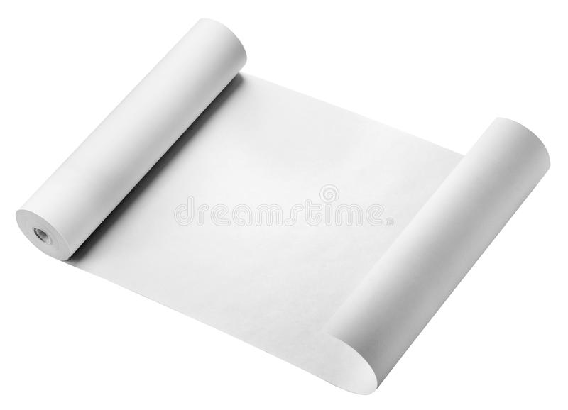 Download Roll Of Paper, Isolated Stock Images - Image: 36948864
