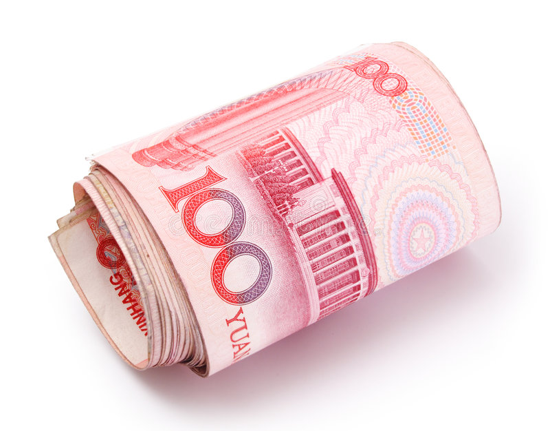 Roll of Renminbi