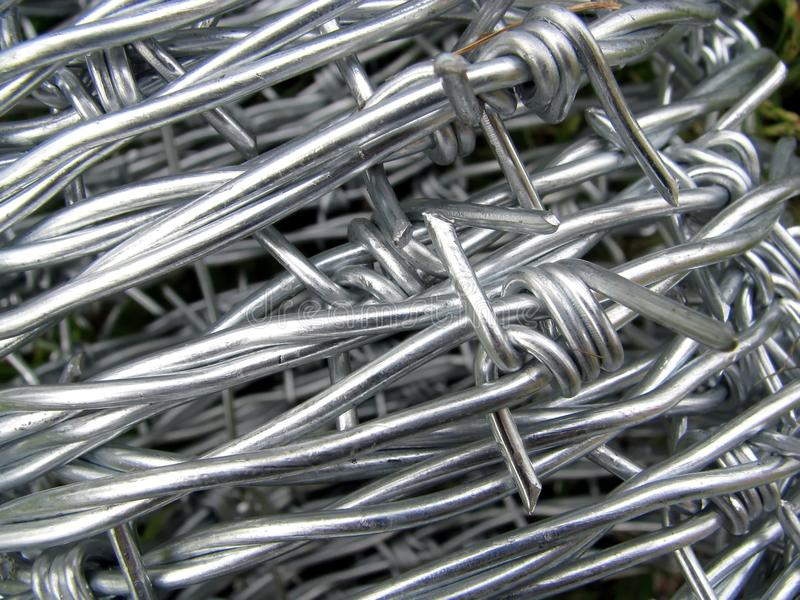 Download Roll Of Steel Barbed Wire Stock Photography - Image: 9933432