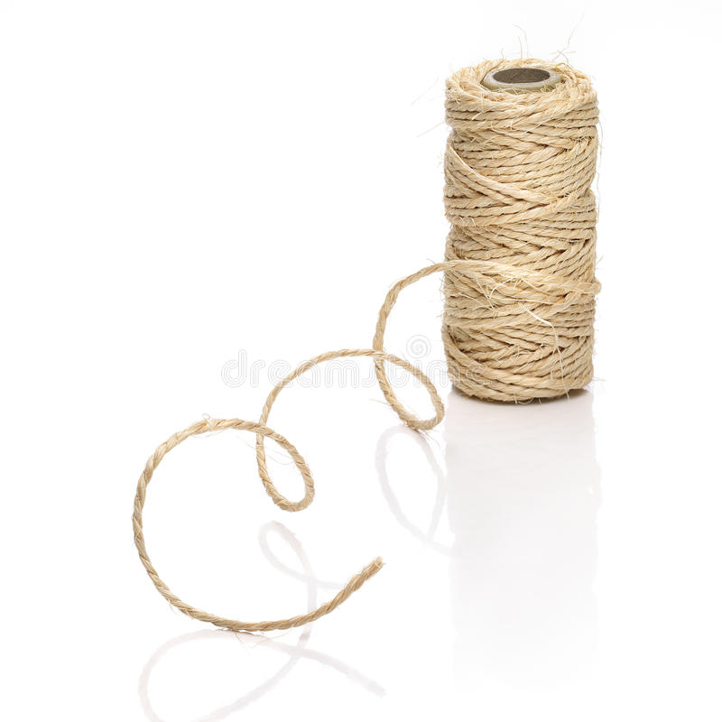 Roll of thick string royalty free stock photography