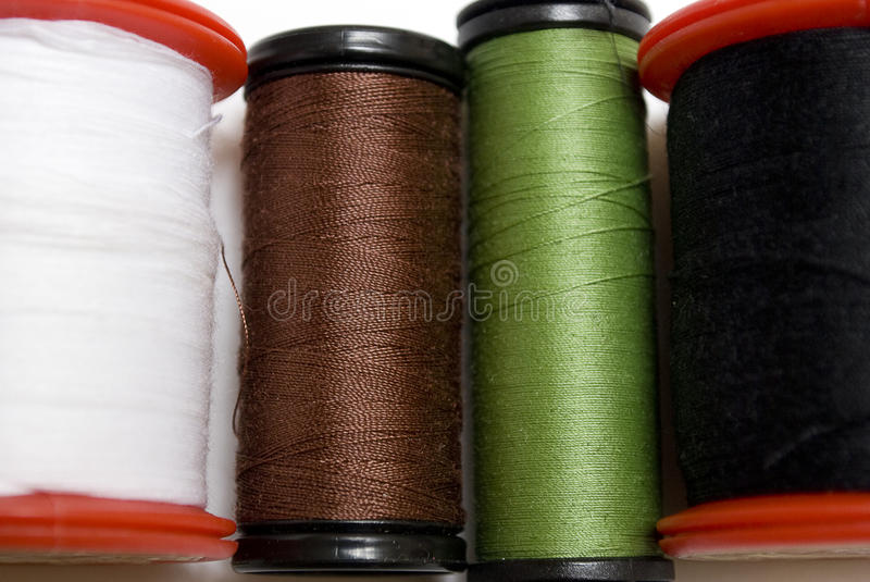 Roll of threads royalty free stock photography