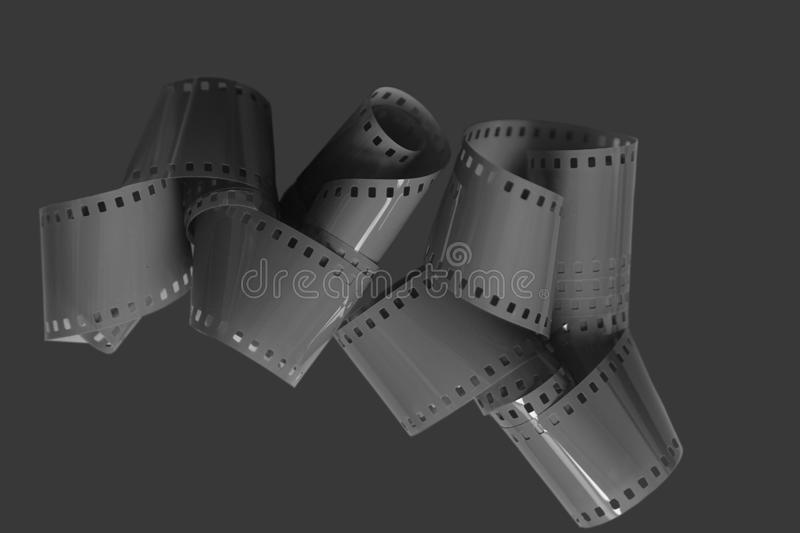 Roll of analog film royalty free stock photos