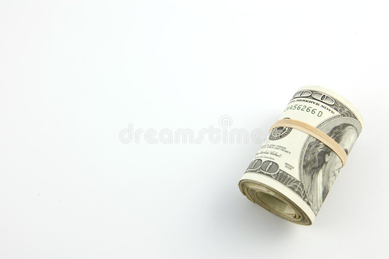 Download A Roll Of United States Hundred Dollar Bills Stock Photo - Image: 13170928