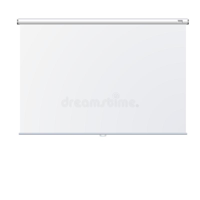 Roll Up Banner Stand on isolated clean background12 royalty free illustration