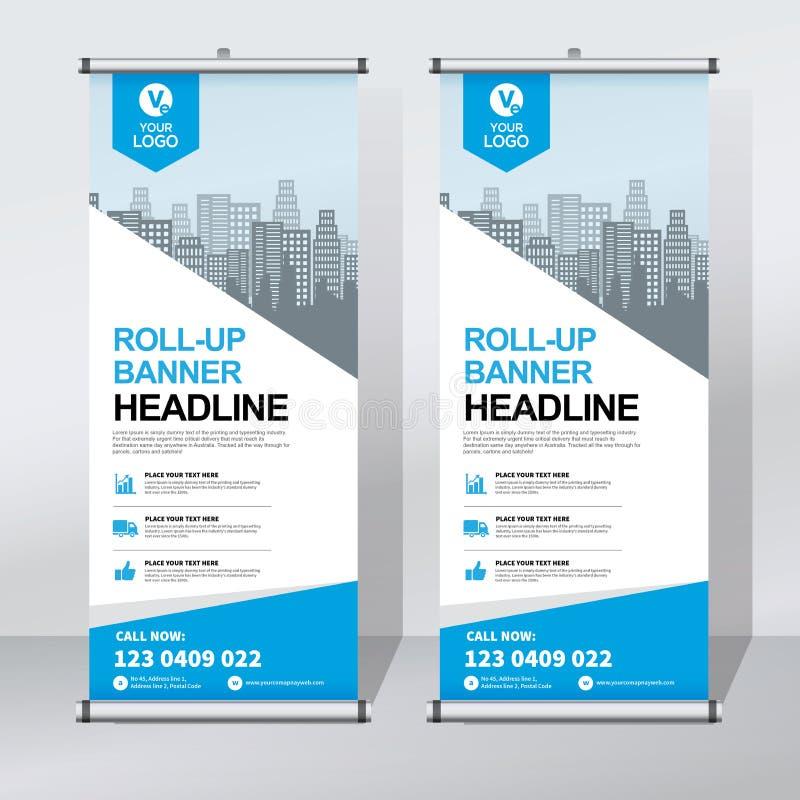 roll up banner design template vertical abstract background pull up design modern x banner. Black Bedroom Furniture Sets. Home Design Ideas