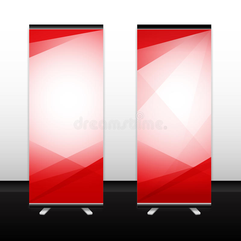 Roll up Vector Background Texture. standee, banner. Roll up vector background texture, standee, banner stock illustration