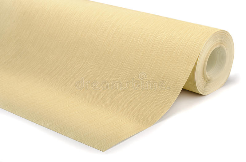 Roll Of Wallpaper Stock Photo Image Of Beige Background