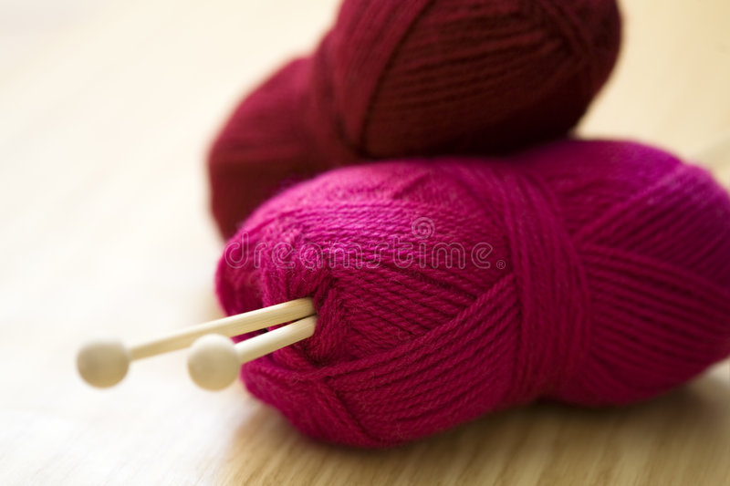 Download Roll of yarn stock image. Image of indoors, sphere, stitch - 6497453