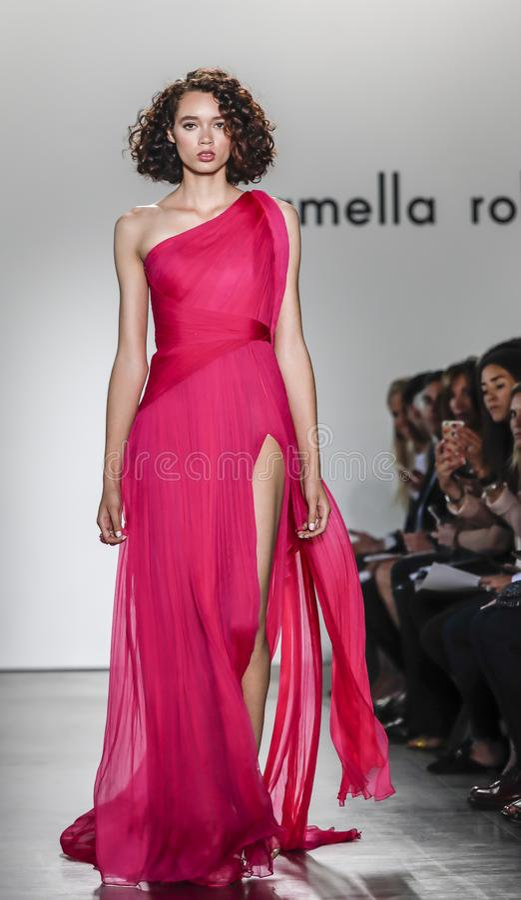 Rollbahnshow 2018 Pamella Rolands SS stockfotografie